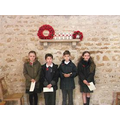 Some of our pupils at St Peter's Church