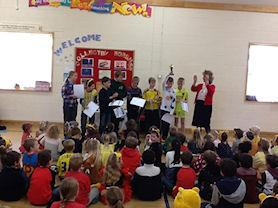 We are so proud of our sporting achievements and love to celebrate them in assembly.