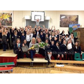 We all said a fond farewell to Mrs Laywood