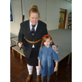 Miss Trunchbull with Matilda