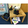 A computing Area in Nursery Children can access freely throughout the day