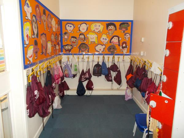 Year 1 Cloakroom