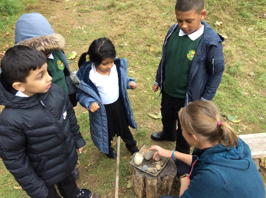 Learning Topic outdoors with year 2