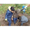 Team work - getting stuck in the mud needs friends