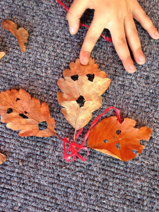 Leaf art - after school club