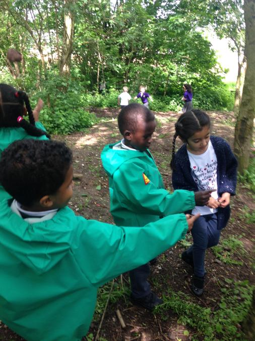 A visit to Storywood's forest school with Year 1
