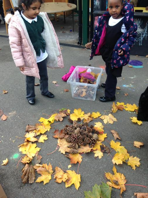 Leaf play in reception