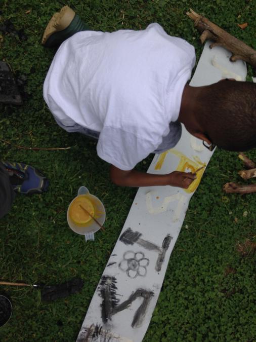 Using natural paints