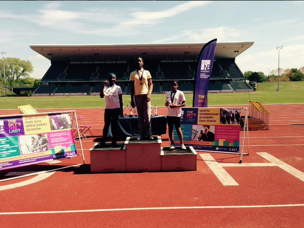 Gold in the 100m