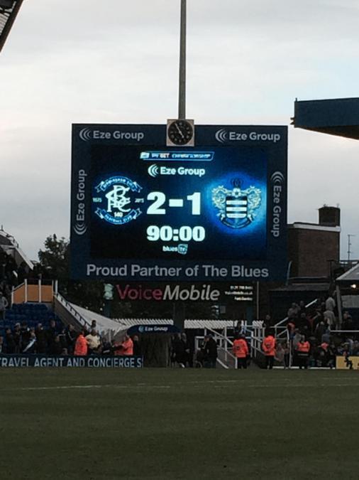 Birmingham won 2-1!