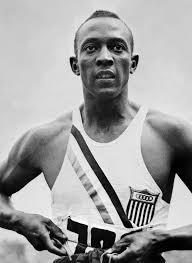 Jesse Owenswas an American athlete. He is best remembered for his performance at the 1936 Berlin Olympics, where he won gold medals in the long jump, the 100- and 200-metre dashes, and the 4 x 100-metre relay. He was the first American track and field athlete to win four gold medals at a single Olympic Games.  Click on either image for view Mrs Davis reading his Biography called Little people, Big Dreams.