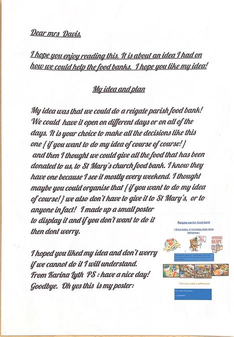 Karina's Letter
