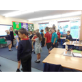 Summer Fair dance practice in Class 2!