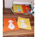 Beautiful Father's Day cards in Pre-school!