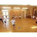 Reception getting active in the hall!