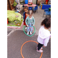Outdoor fun in Pre-school