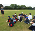 Year 5 & 6 at the Cricket Tournament!