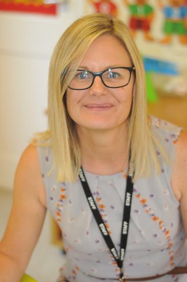 Mrs Mills - Reception TA