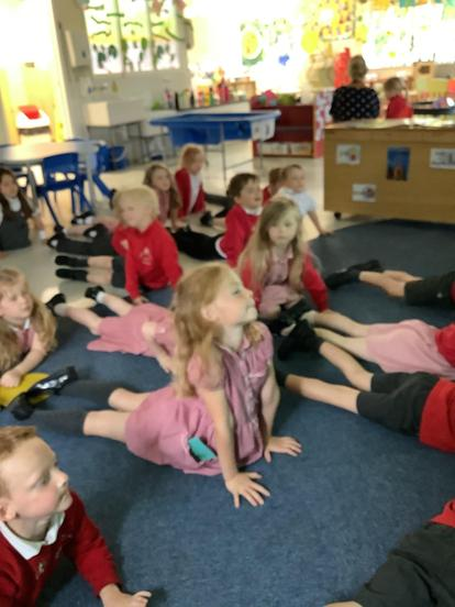 Being hungry caterpillars in yoga