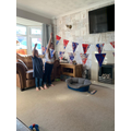Evie's VE Day bunting!