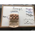 What array is this egg box showing?