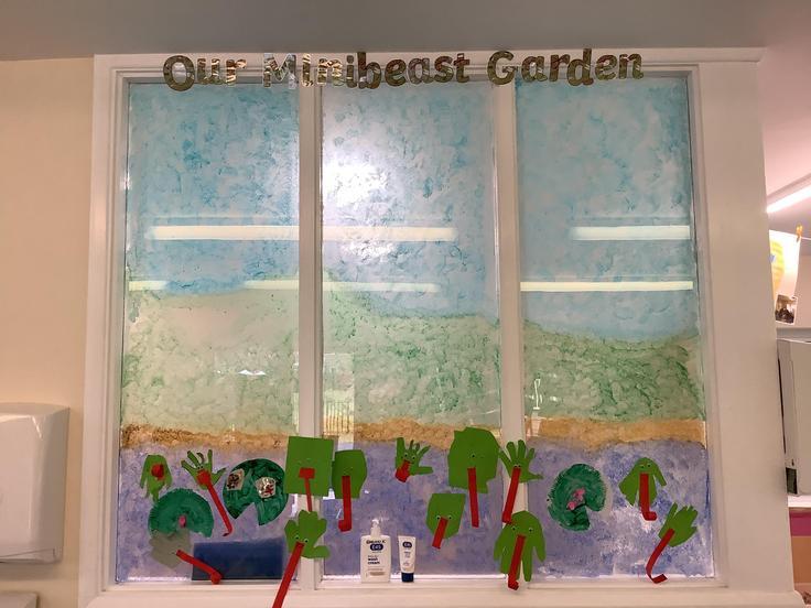 The start of our minibeast garden