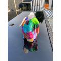 Spencer's Elmer - very colourful.