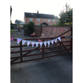Hollie's VE Day bunting!