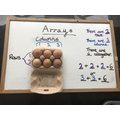 Answers for the egg box array.