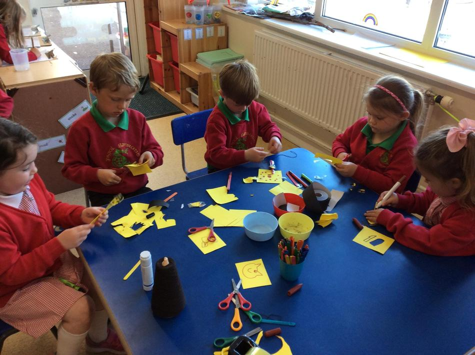 We made dancing giraffes...we hope you liked them!