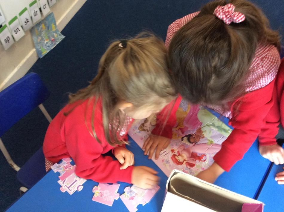 Can we try a princess puzzle Mrs Addicott from our jigsaw library?
