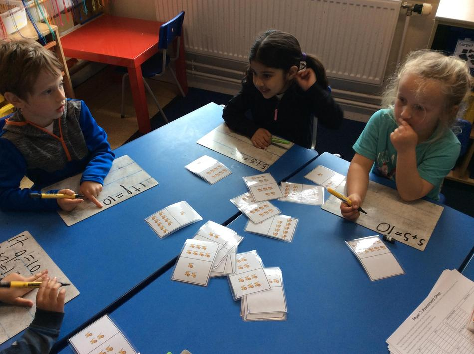 Writing bonds to ten with Leo Lion pictoral bond cards.