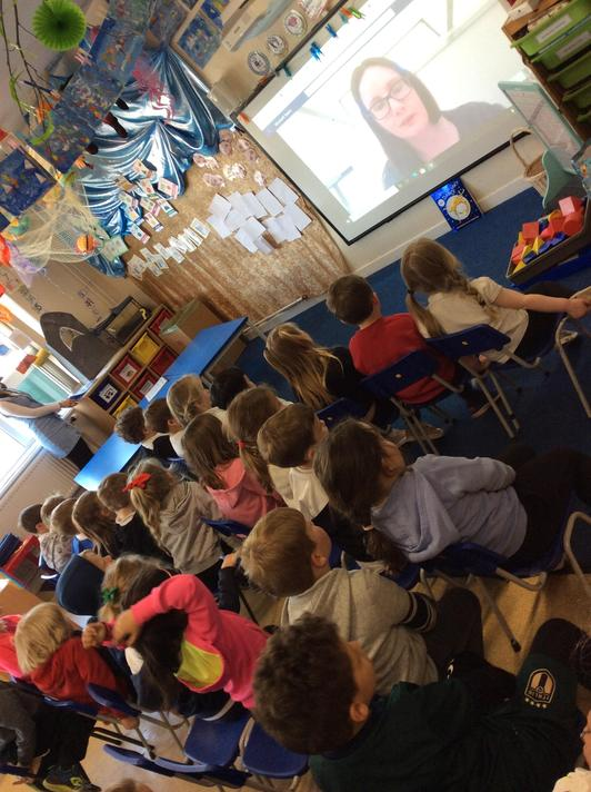 Our virtual workshop with St. Fagans to learn about washing in the past. So cool!