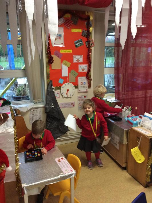We have loved writing letters to Santa!