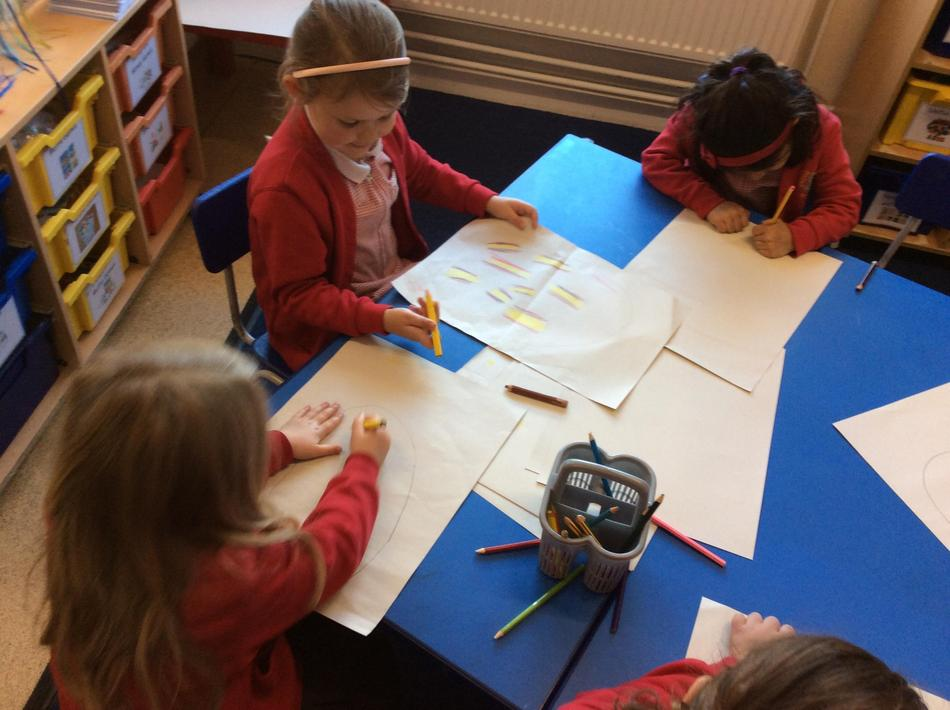 We designed our own dragon eggs...