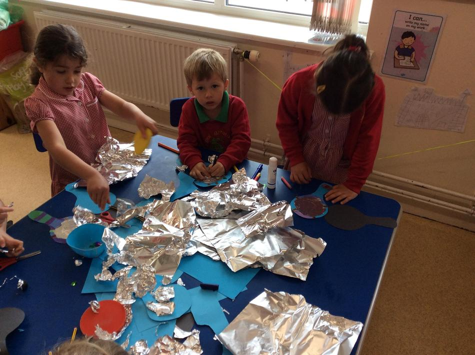 We designed our own royal mirrors.