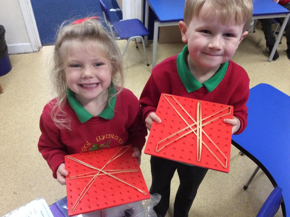 We made sure our stars were pointy!
