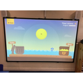 We even have an interactive projector and board we can do lots of activities on.