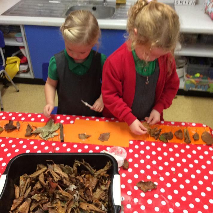 Making Autumn Crowns