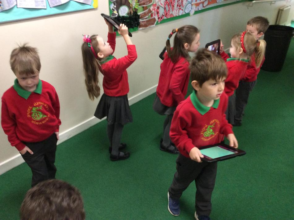 The children were exploring electricity in their science lessons today.