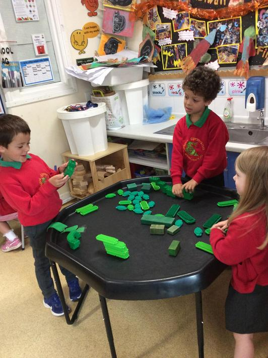 Building beanstalks in the construction zone.