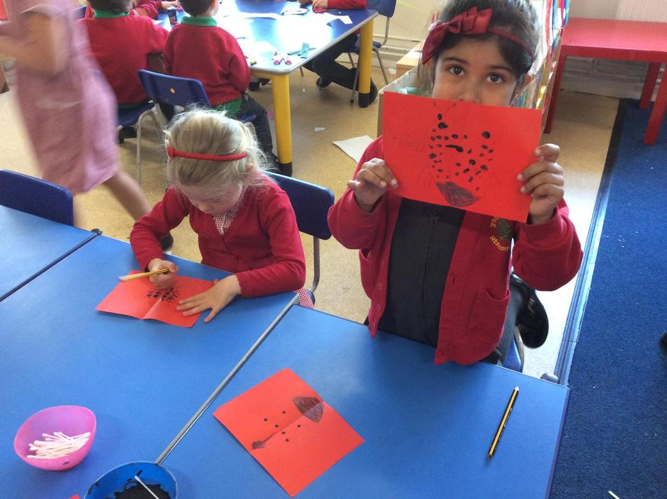 We have been busy learning about doubles and halves too!