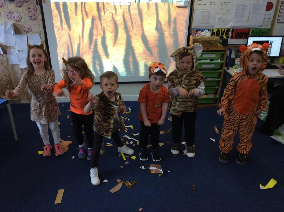 We are fierce tigers!