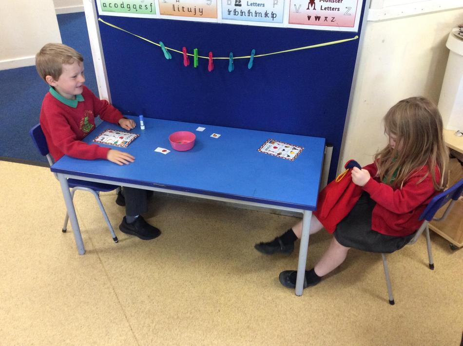 Handa's bingo...this was so much fun! Even Mrs Addicott played against Miss Kaur!
