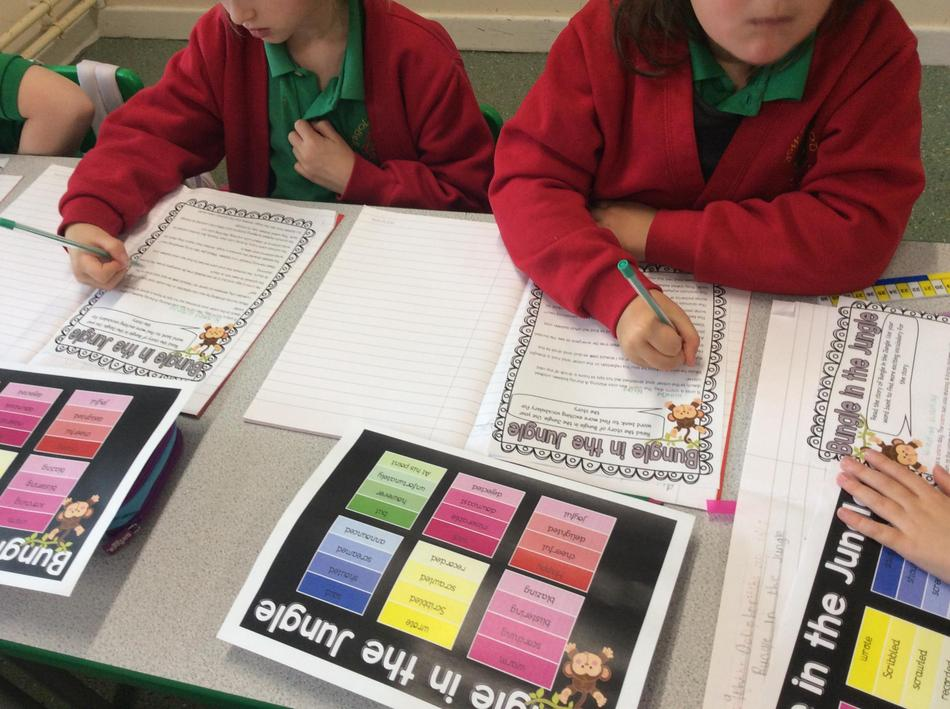 Using our literacy skills to improve our vocabulary
