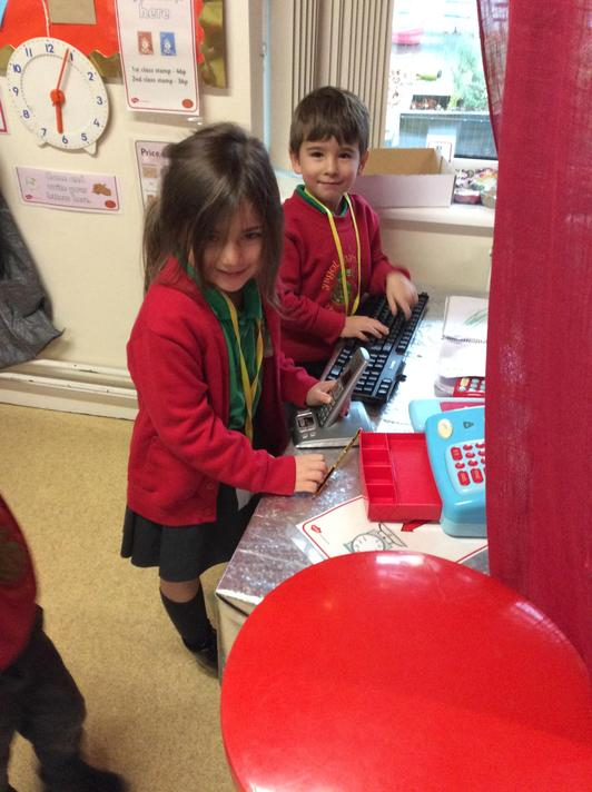 The post office is always busy in R3!