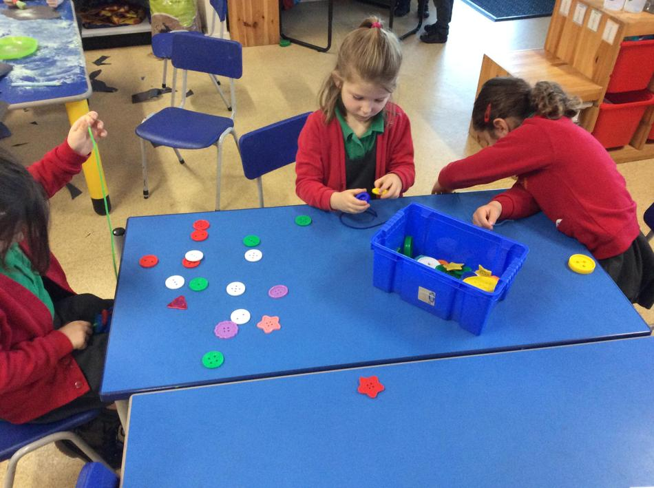 We asked to have the buttons to do our own repeating patterns!
