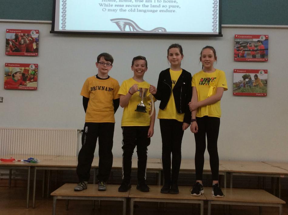 Briwnant won the Eisteddfod!