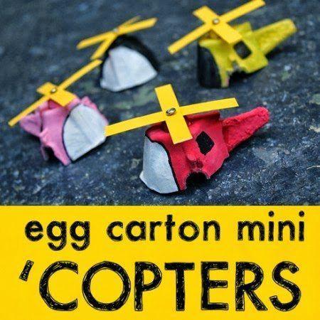 egg carton 'copters