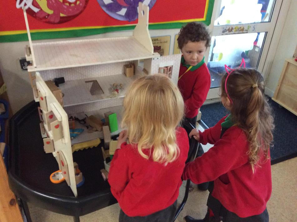 This week we have tidied the house up after the Diwali celebrations!